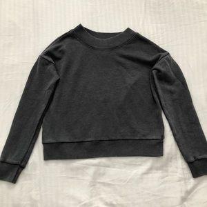 aerie high neck sweatshirt